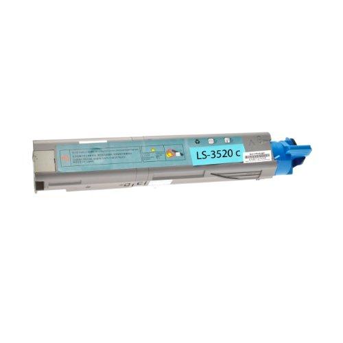 Preisvergleich Produktbild Logic-Seek Toner für Oki C3520 43459371, 2500 Seiten, cyan