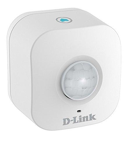 D-Link DCH-S150 mydlink Home Sensore di Movimento Wi-Fi, Notifiche Push tramite App Gratuita, Bianco
