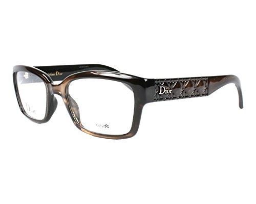 Dior Für Frau Cd3261 / Timeless Cannage Brown Gradient Kunststoffgestell Brillen