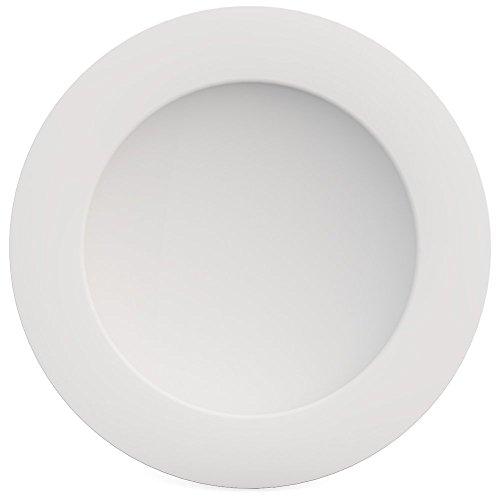 Ornamin Teller tief Ø 24 cm weiß (2er Set), Melamin | großer hochwertiger, stabiler Kunststoffteller | robustes Alltags-Geschirr für Kinder, Camping, Picknick, Gemeinschaftsverpflegung, Großküchen, Institutionen | Pasta-Teller, Suppenteller
