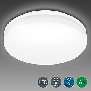 LE Bathroom LED Ceiling Light, 100W Equivalent, 15W 1250lm, Daylight White, Waterproof IP54, Modern, Flush Mount