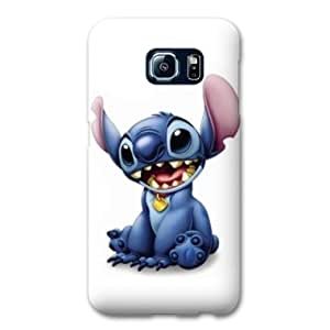 Coque Samsung Galaxy S6 Dessin anime - - Stitch Blanc -