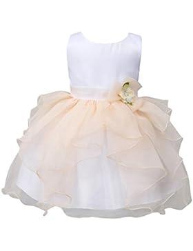 MORESAVE Neonate Fiore multistrato principessa vestito dalla festa nuziale spettacolo vestito tutu fantasia