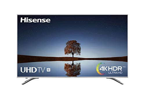 Hisense H65A6500, Smart TV VIDAA U, Diseño Metálico, Modo Deportes, 4K Ultra HD, HDR, Precision Color, Super Contraste, Remote, WIFI Ethernet USB, 65', Negro
