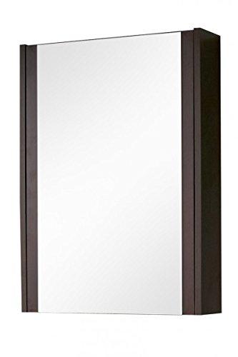 Armadietto a specchio 'Melinda SP' Specchio bagno bagno specchio bagno mobili armadio 50cm Wenge