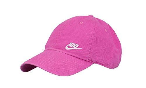 Nike W Nk H86Futura Classic Mütze, Damen, Damen, W Nk H86 Futura Classic, Rosa (Pinkfire ii/weiß)