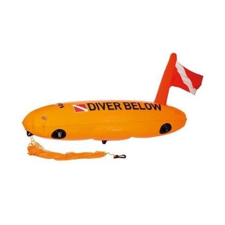 Mares Torpedo - Boya, Color Naranja, Talla Bx