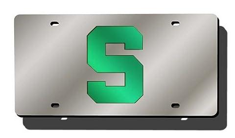 NCAA Laser geschnitten Auto Tag, Michigan State Spartans