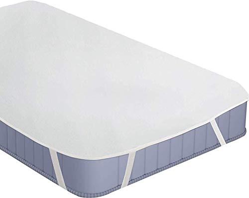 Utopia bedding coprimaterasso impermeabile - traspirante in spugna di cotone top (180x200 cm)