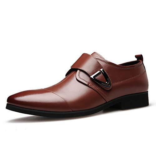Dhyuen Men Classic Business-Schuhe Wiesen Spitze Freizeitschuhe Auf Um Die Fußschuhe Zu Unterstützen (Kinder Sparkly Schuhe)