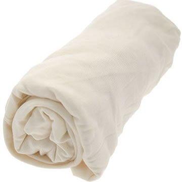 Looping Drap Housse Grande Taille en Jersey Coton Extensible Blanc 140 X 70 cm