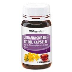 Sovitarelax Johanniskraut-Rotöl Kapseln Weichkapseln 120 Stück