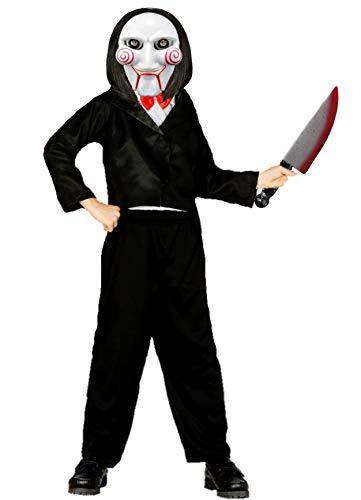 Disfrazjaiak Kostüm - Puppe, Killer-kinder - de 10 a 12 años (Von Puppe Saw Kostüm)