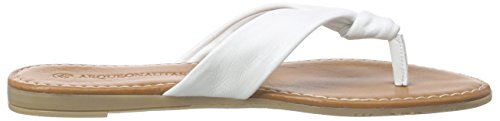 Arqueonautas 6187, Mules femme Blanc - Blanc