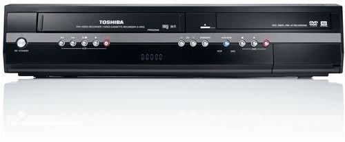 Toshiba D VR 52 KTF DVD-Rekorder/ VHS-Rekorder Kombination (DivX-zertifiziert) schwarz