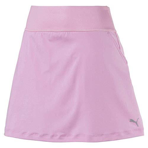 Puma Golf Damen 2018Pwrshape Massiv Knit Rock, Damen, Skort, 2019 Pwrshape Solid Knit Skirt, Blassrosa, XX-Large - Solid Knit Short