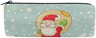 Isaoa Trousse Cute Santa (2) Portable ronde Pen Sac pochette de rangeHommes t Sac à main porte-stylo Cadeau de Noël pour enfants étudiant officier de voyage maquillage Sac pour femme fille B07JMZ2K9Y | De Première Qualité
