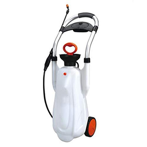 NBRTT Feld- und Gartensprühgerät, Rasensprühgerät, Portablemulti-Handroller für Gartenarbeiten, Düngemittel, Reinigung mehrerer Sprühnotwendigkeiten -