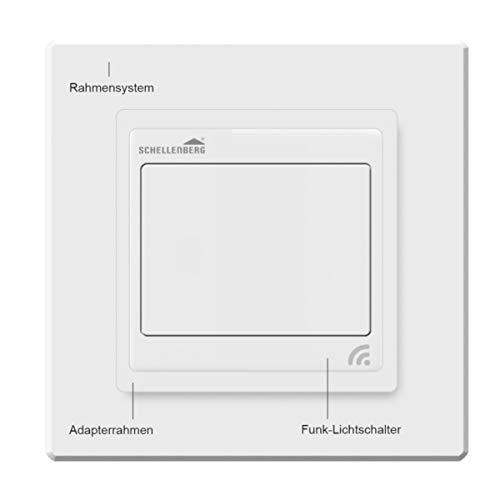 Schellenberg Smart Home Funk-Lichtschalter weiß - 4