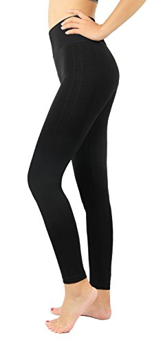 Jogging damen sport Leggings Schwarz Strumpfhosen Yoga Leggings Fitness Sport Hose L