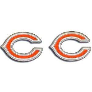 Ohrstecker-CHICAGO BEARS NFL Fußball Fan Shop Sports Team Merchandise.