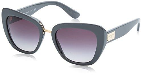 Dolce & Gabbana Damen 0DG4296 30908G 53 Sonnenbrille, Grau (Grey/Gradient),