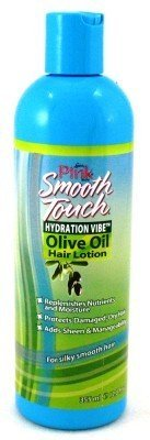 luster's pink smooth touch hydration vibe olive oil hair lotion 355ml