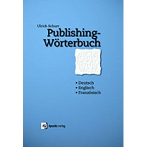 Publishing-Wörterbuch.