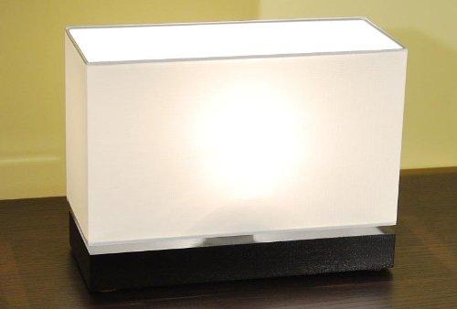 Tisch Sockel Restaurant (Designer Tischleuchte Tischlampe Strahler Retro Design Restaurant Bar Salon E27 LED Bern 23 (Sockelfarbe: Nuss))