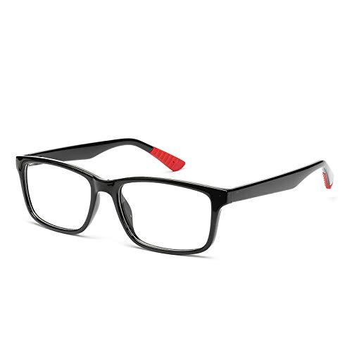 YMTP Männer Brillengestell Mode Retro Optische Myopie Klar Designer Brille Rahmen, C1