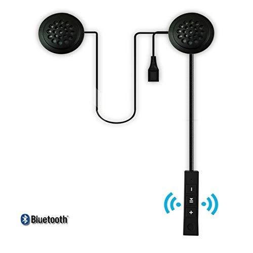 Forart Auricolare Bluetooth per caschi da moto, cuffie per interfono per moto, cuffie per caschi wireless, sistemi di comunicazione per caschi wireless