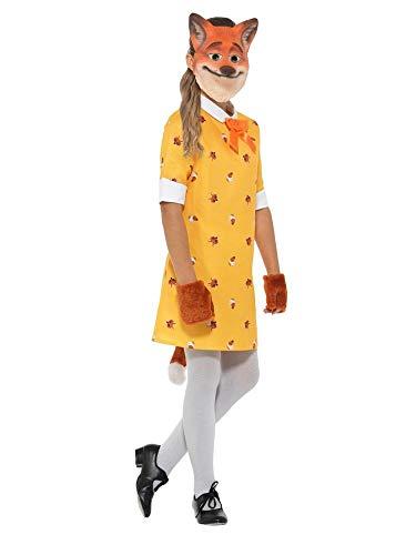 shoperama Fräulein Fuchs Mädchen-Kostüm mit Maske Kleid Kinder-Kostüm -