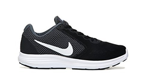 Nike Wmns Revolution 3 W, Chaussures de Running Entrainement Femme Blk