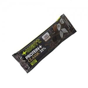 +watt 12x protein 25%+ 40g (gusto cocco) con il 25% proteine, ricoperte fondente - nt integratori