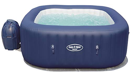 Bestway - Lay-Z-Spa Hawaii AirJet aufblasbar Whirlpool, mit Massagefunktion, 180 x 180 x 71 cm