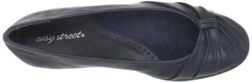 Easy Street Women's Giddy Ballet Flat,Brown,7 M US New Navy
