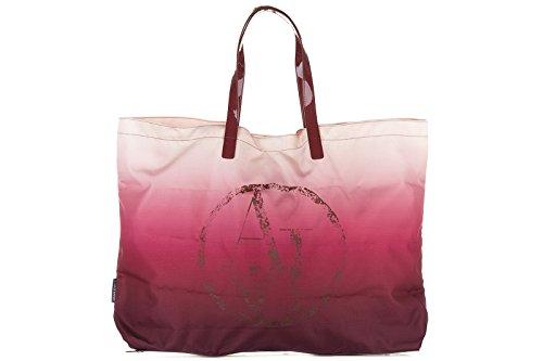 Armani Jeans borsa donna a mano shopping nuova originale bordeaux