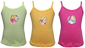 BODYCARE Girls Graphic Vest (Pack of 3)