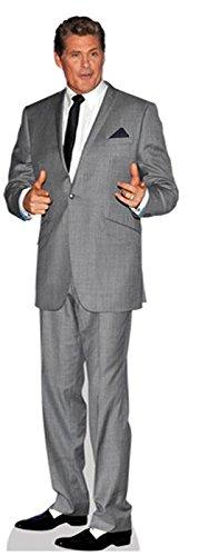 Preisvergleich Produktbild David Hasselhoff (Grey Suit) Mini Cutout