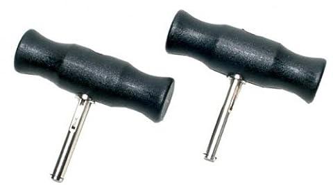 BGS Technic - 2 poignées pour corde à piano découpe pare-brise