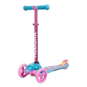 HUDORA Scooter Roller Mädchen – Flitzkids 2.0 Skate Wonders, 11054