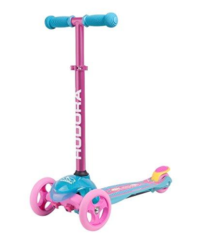 HUDORA Scooter Roller Mädchen - Flitzkids 2.0 Skate Wonders, 11054