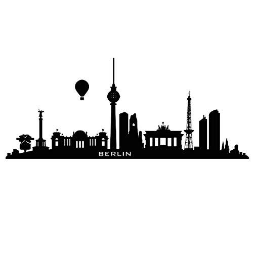 Wasserstoff Ballon Berlin Wandaufkleber City Home Decor Wohnzimmer Sofa Hintergrundbild 59x24cm