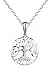 Branched Tree Of Life 925 Silver Necklace, Necklace For Women- By Ornate Jewels
