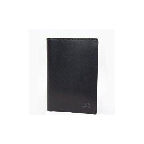 Grand portefeuille porte monnaie et porte cartes cuir vintage Tony Perotti NW3363 - Noir