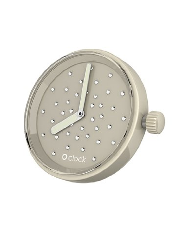 Fullspot O clock Cassa Cristal Tortora - Orologio da polso Unisex