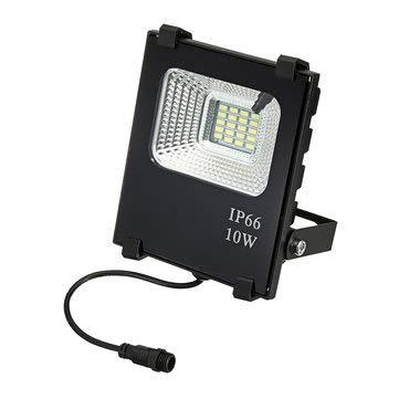 ExcLent 10W Solar Panels Kunststoffrahmen 3W 20Led Wasserdichte Solarlampe Panel Remote Optically Control Lampe - Warmweiß