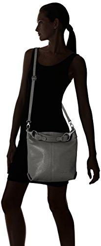 Bags4Less - Yenna, Borse a spalla Donna Grigio (Dunkelgrau)