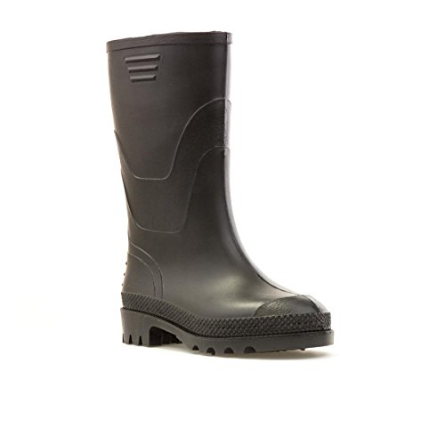 Zone Kids Black Wellington Boots