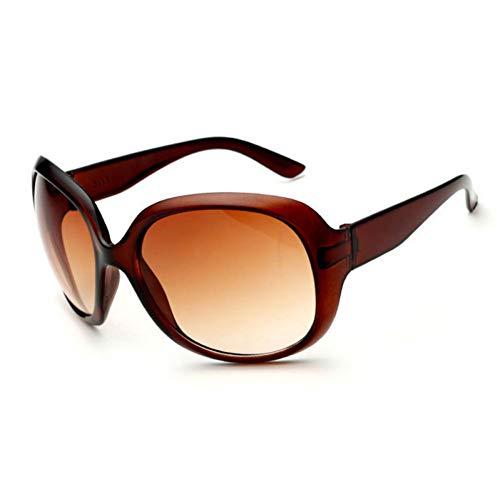 GJYANJING Sonnenbrille Retro Klassische Sonnenbrille Frauen Ovale Form Sonnenbrille Weibliche Mode Sunglaasses FrauenSonnenbrille Mädchen